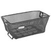 Basil Como Bike Basket closely black